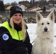 Leroy wird beim Österreichischen Rettungsdienst - ÖRD als Einsatztrailer ausgebildet